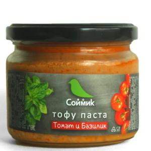 "Тофу-паста ""томат и базилик"" Соймик"