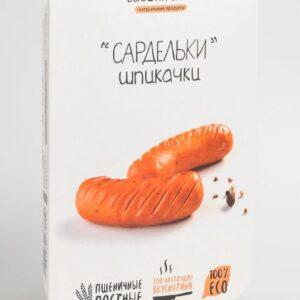 """Веганские сардельки """"Шпикачки постные"""" Высший Вкус"""