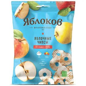 Яблочные чипсы из сладких яблок