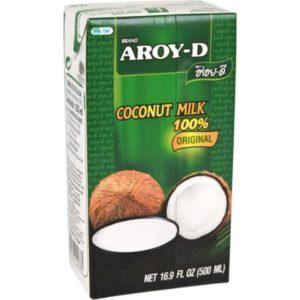 Молоко кокосовое AROY-D, 1л