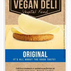 """Веганский сыр нарезка """"Original"""" Vegan Deli 160 гр"""