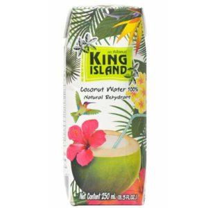 100% Натуральная кокосовая вода King Island без сахара