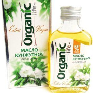 "Масло кунжутное ""Organic life"" 100 мл"