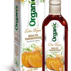 Масло тыквенное Organic life 250 мл