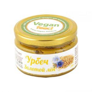 Урбеч из золотого льна Vegan Food