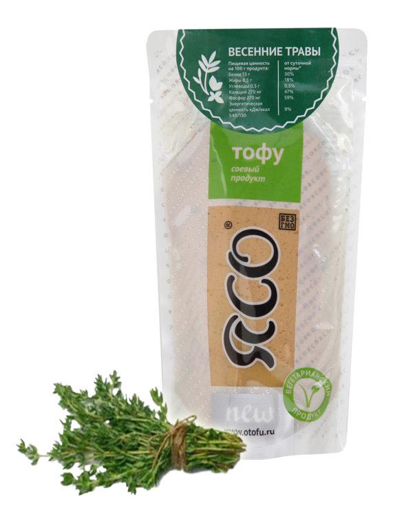Тофу с зеленью Ясо