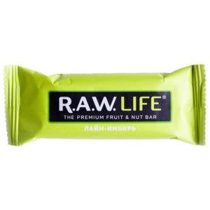 "Батончик R.A.W. LIFE ""Лайм-имбирь"""