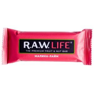 "Батончик R.A.W. LIFE ""Малина-лайм"""