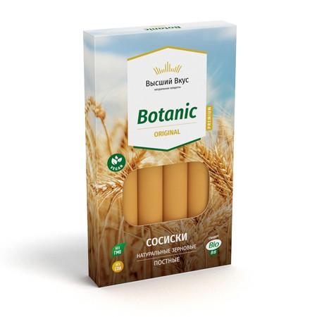 Веганские сосиски «Botanic Original» Высший Вкус
