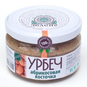 """Урбеч из абрикосовой косточки """"Зелено"""""""
