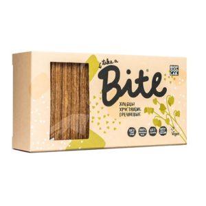 Bite. Хлебцы хрустящие гречневые 150 гр
