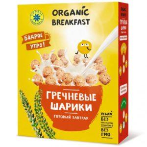 """Компас Здоровья. Завтраки сухие """"Гречневые шарики"""""""