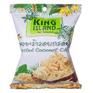 KING ISLAND. Кокосовые чипсы натуральные 40г