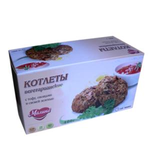 """Вегетарианские котлеты постные с тофу """"VEGO"""" , 400г."""