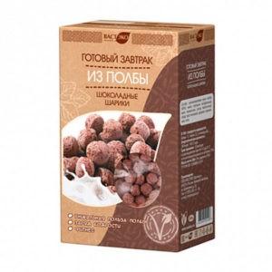 Готовый завтрак ВАСТЭКО Шоколадные шарики из полбы