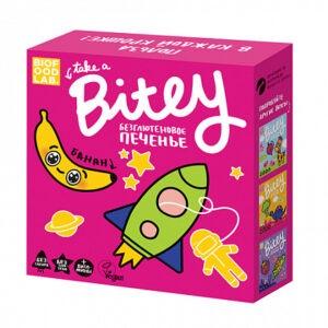 "Печенье безглютеновое ""Bite"" с бананом, 125 гр"