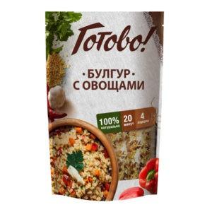 "Булгур с овощами ""Готово"", 250 гр"