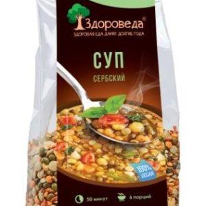 """Суп сербский 4 боба """"Здороведа"""", 250 гр"""