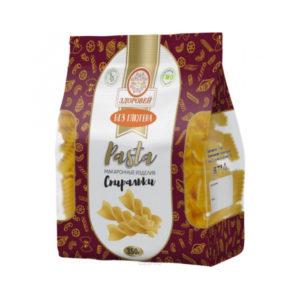 """Макароны кукурузные (спиральки) """"Здоровей"""", 400 гр"""