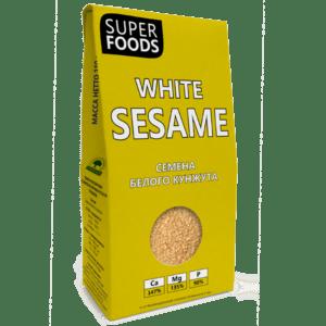 "Семена белого кунжута ""Компас здоровья"", 150 гр"