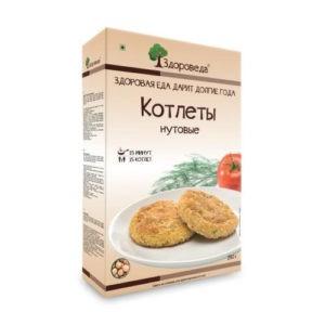 """Котлеты """"Нутовые"""" Здороведа, 280 гр"""