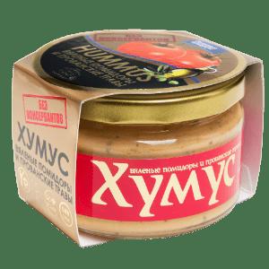Тайны Востока Хумус с вялеными помидорами и прованскими травами , 200 г