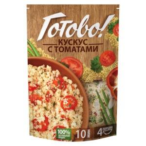 """Кускус с томатами """"Готово"""", 250 гр"""