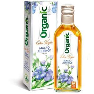 "Масло льняное ""Organic Altay"", 500 мл"