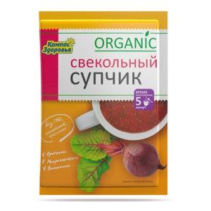 """Суп-пюре Свекольный """"Компас здоровья"""""""