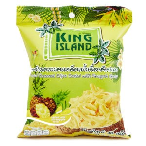Чипсы King Island кокосовые с ананасом