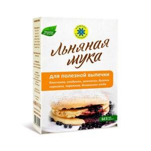 """Мука Льняная для полезной выпечки """"Компас Здоровья"""", 300 гр"""