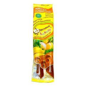 """Пастила фруктовая (Яблоко-банан) """"Фруктовый лаваш"""", 70 гр"""