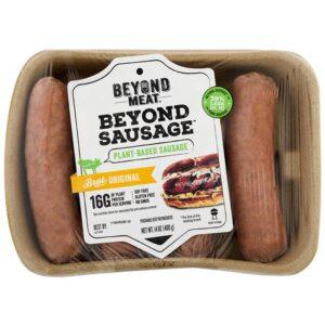 """Сосиски """"Beyond Meat"""" из растительного мяса замороженные Beyond Sausage, 400 гр"""