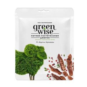 Растительные джерки Greenwise вкус Баранина 36 г