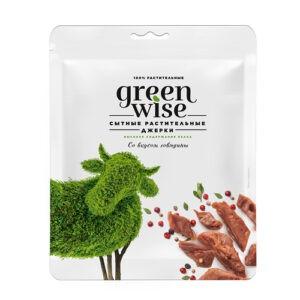 Растительные джерки Greenwise вкус Говядина 36 г