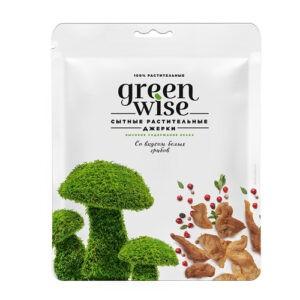 Растительные джерки Greenwise со вкусом белых грибов 36 г