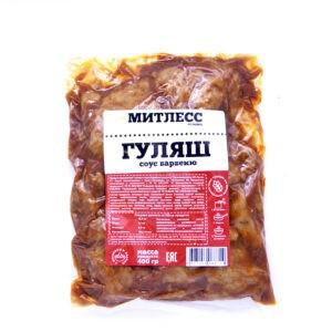 """Сейтан """"Митлесс"""" Гуляш в соусе Барбекю, 400 гр"""