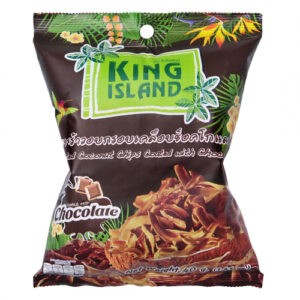 Чипсы King Island кокосовые с шоколадом