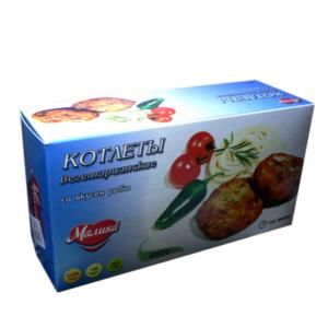 """Вегетарианские котлеты постные с ароматом рыбы """"VEGO"""" , 400гр"""