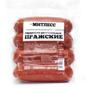 """Сардельки """"Митлесс"""" Пражские постные, 400 гр"""