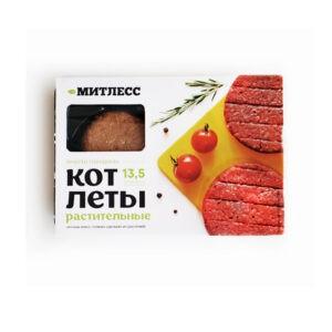 """Котлеты растительные вместо говядины """"Митлесс"""", 200 гр"""