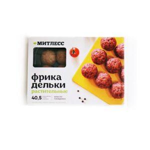 """Фрикадельки растительные вместо говядины """"Митлесс"""", 300 гр"""