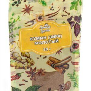 """Кумин молотый (зира) """"Житница здоровья"""", 30 гр"""