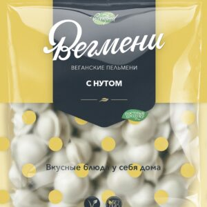 """Пельмени веганские с нутом """"Вегмени"""", 450 гр"""