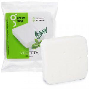 Веганский сыр «Фета» Green Idea кусок 200г