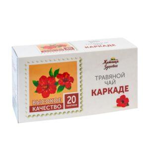 """Травяной чай Каркаде, пакетированный """"Житница здоровья"""""""