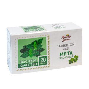 """Травяной чай Мята, пакетированный """"Житница здоровья"""""""