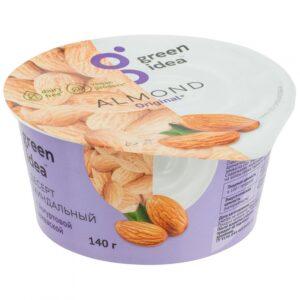 Десерт Green Idea миндальный с йогуртовой закваской 140 г