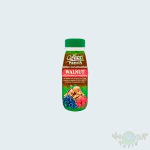 """Смузи с грецкими орехами, черникой и малиной """"Green Ranch"""", 250гр"""