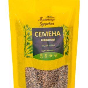"""Семена Конопли пищевой """"Житница здоровья"""", 180гр"""